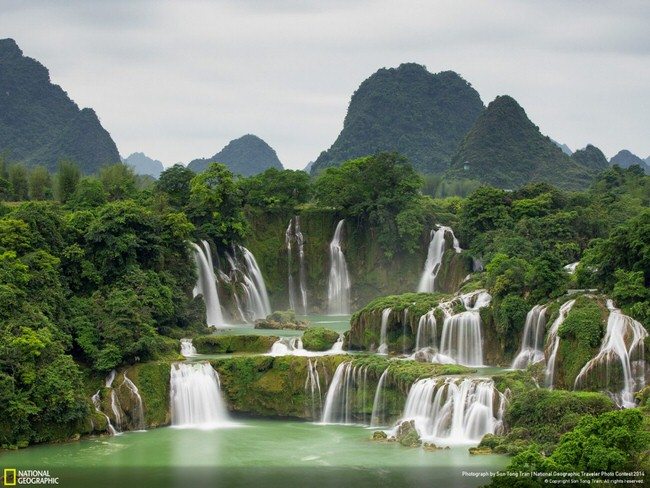 beautiful pictures - Ban Gioc Waterfall