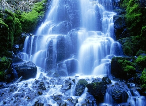 Fed By Underground Springs From Larch Mountain The Flow Over Falls Varies Usually Its Highest During Winter And SpringMultnomah Offers One Of