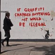 Banksy is a pseudonymous England-based graffiti artist, political activist, film director, and painter. His satirical street art and subversive epigrams combine irreverent dark humour with graffiti done in a distinctive...