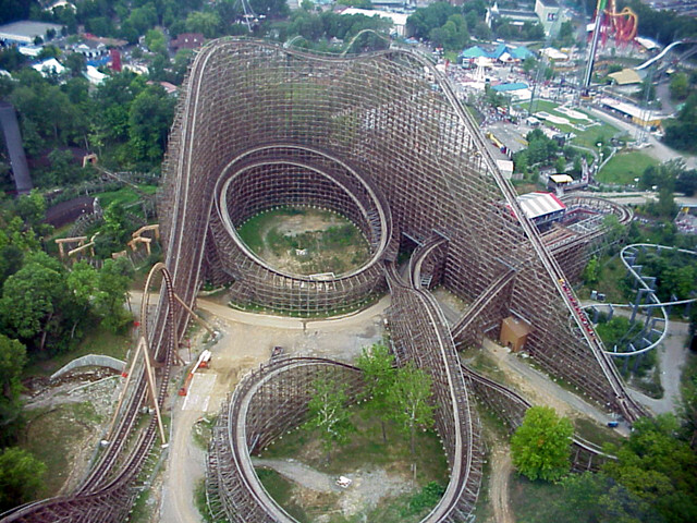 Probably The Coolest And Fastest Roller Coasters In The World