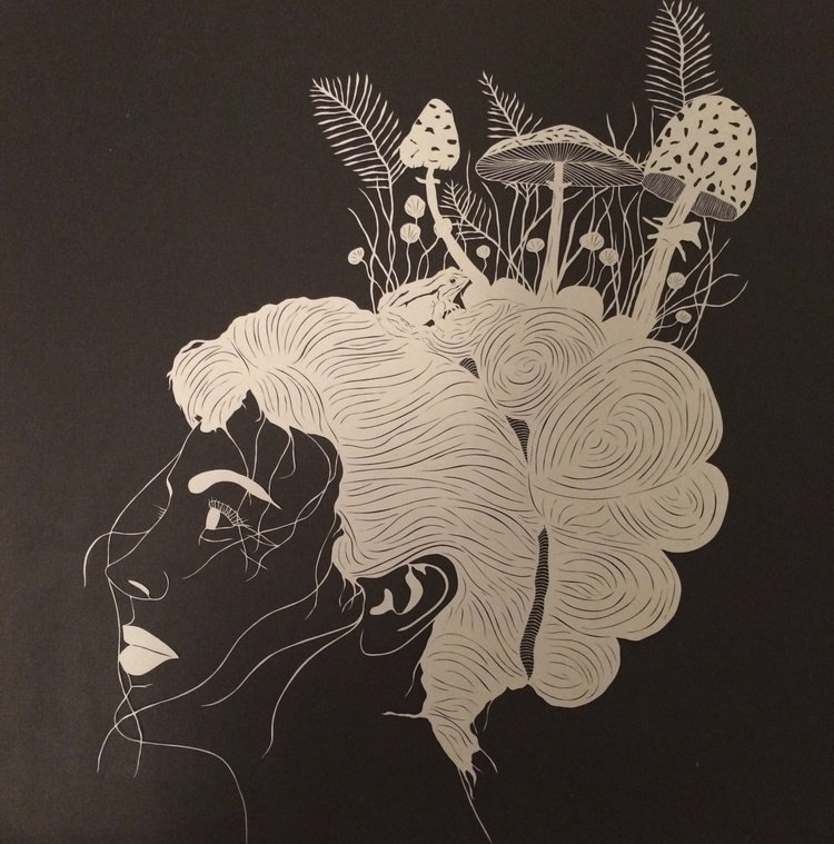 Black And White Papercut Art Images That Tell More Than Words - Intricate hand cut paper art maude white