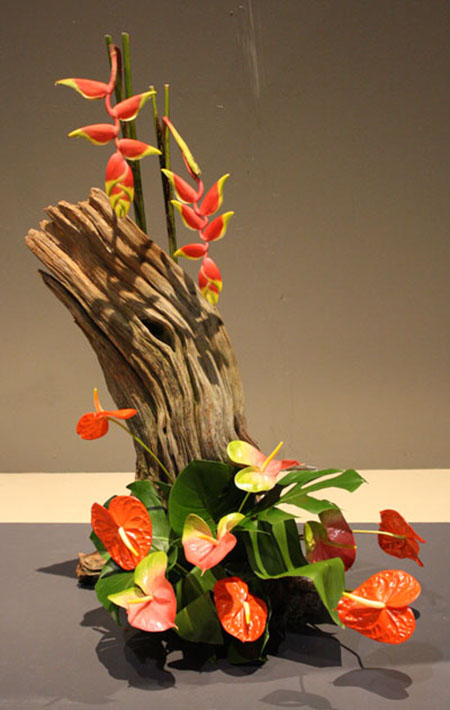 26 Lovely And Unique Ikebana Flower Arrangements