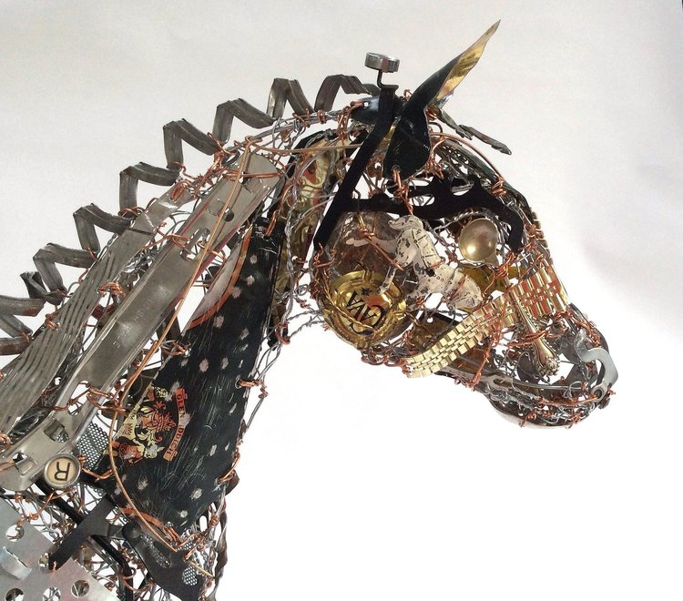 Beautiful Sculptures Of Animals Created From Recycled