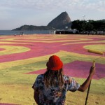 Artist Paints a Huge Mural On The Street. And When You See It From Space… Mind BLOWN
