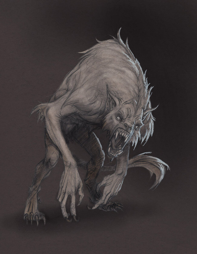 These Drawings of Monsters by Anastasios Gionis Will Give ...