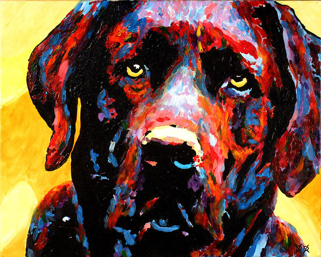 Blind Artist Creates Amazingly Colorful Paintings