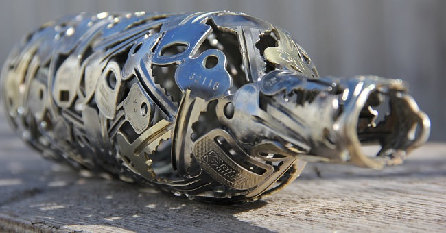 recycled-keys-sculptures-cover