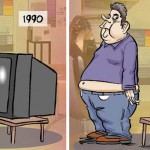 25 Hilarious Illustrations That Show How The World Has Changed For Bad