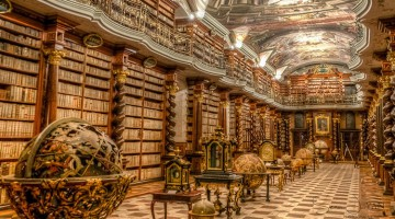 This Library in Czech Republic is a Magnificent Work of Art