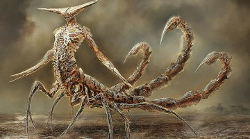 Artist Reimagines Zodiac Signs As Terrifying (And Awesome) Monsters