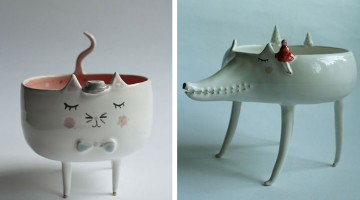 Cute Handmade Animal Ceramics By Polish Artist Marta Turowska