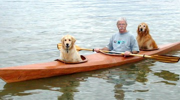 Man Built Special Kayak To Take His Dogs On Water Adventures