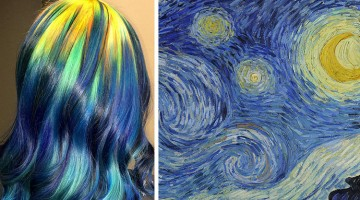 Hairstylist Finds Inspiration In Classic Paintings