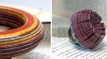 Discarded Books Turned Into Stunning Jewelry By Jeremy May