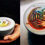 Talented Barista Makes Psychedelic-Looking Latte Art