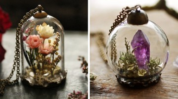 Take A Little Bit Of Nature Wherever You Go With Ruby Robin's Tiny Terrariums