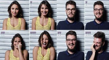 Photographer Takes Hilarious Portraits Of People After 1, 2 And 3 Glasses Of Wine