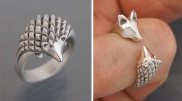 Artist Makes Animal Shaped Handmade Jewelry Out Silver And Bronze