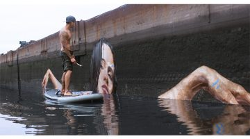 Artist Paints Mind Blowing Interactive Murals