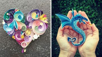 Woman Quits Her Day Job To Create Beautifully Quilled Paper Art