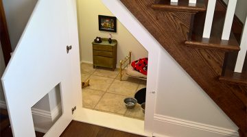 This Chihuahua Got His Own Bedroom Built Under The Stairs And It Looks Amazing