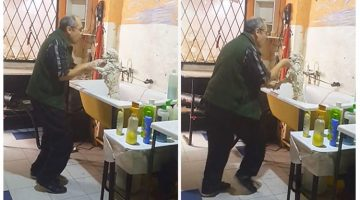 This Pet Groomer Was Spotted Dancing With A Client's Dog And The Entire World Is Going 'Awww'