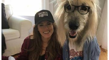 This Woman And Her Dog Pulled Off The Coolest 'Wayne's World' Halloween Costumes
