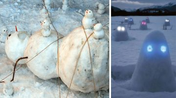13 Of The Coolest And Most Creative Snowmen From The Holiday Season