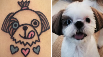 South Korean Tattoo Artist Turns Your Pet Into Adorable Tattoos