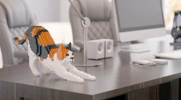 Cat 'LEGOS' For Those Who Can't Get Enough Of Kitties
