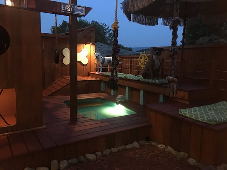 Man Spends 2 Years Turning His Backyard Into An Awesome